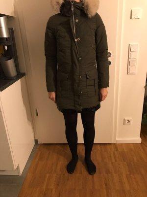 Peuterey Damenparka, Größe 34, Khaki, top Zustand!