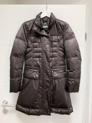 Peuterey Down Coat taupe-black brown