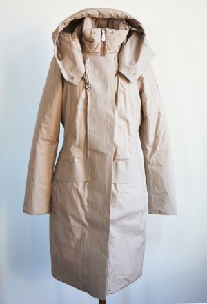 Peuterey Down Coat pink-natural white mixture fibre