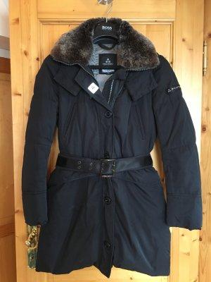 Peuterey Goldin Fur Daunenmantel Wintermantel Parka