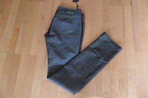 Peuterey Jeans Silber/ Schwarz  Gr. 40/42 Neu Luxus Pur!