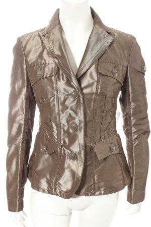 Peuterey Kurzjacke bronzefarben extravaganter Stil