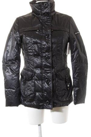 Peuterey Lange Jacke schwarz Elegant