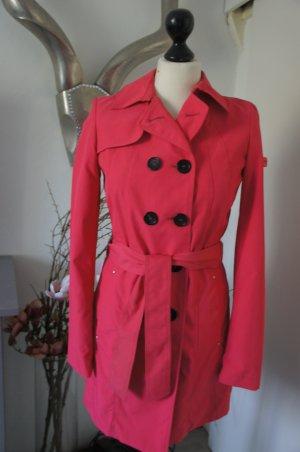 PEUTEREY Mantel Größe 34 rosa neuwertig