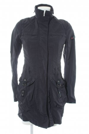 Peuterey Outdoorjacke dunkelblau Casual-Look