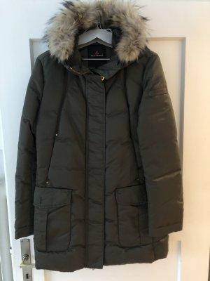 Peuterey Winter Coat green grey polyamide