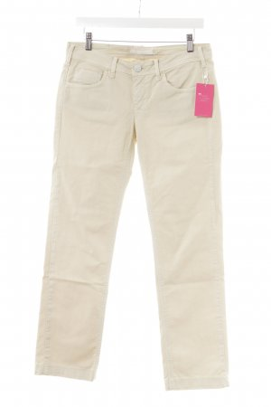 Peuterey Straight-Leg Jeans creme Casual-Look