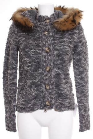 Peuterey Strickjacke meliert Casual-Look