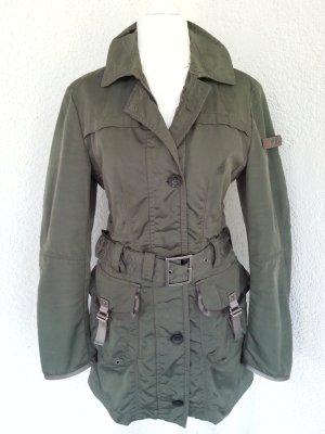 Peuterey Trenchcoat-Jacke khaki Gr.36 top Zustand