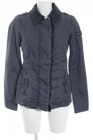 Peuterey Übergangsjacke grau-anthrazit Street-Fashion-Look