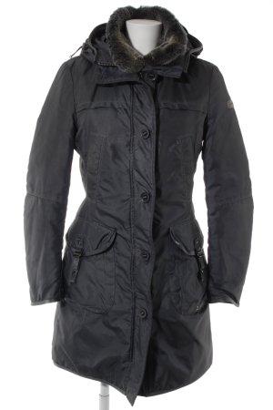 Peuterey Cappotto invernale grigio stile casual