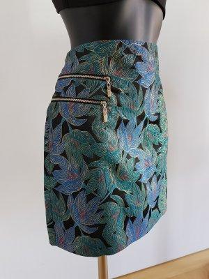 Pimkie High Waist Skirt multicolored mixture fibre