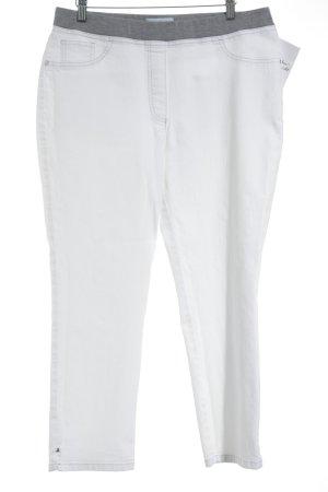 Pfeffinger 7/8 Jeans weiß-grau Casual-Look