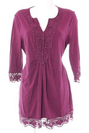 Pfeffinger A-Linien Kleid purpur Beach-Look