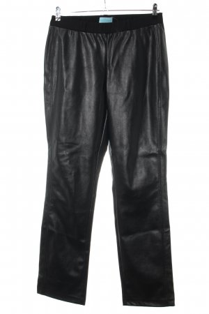 Pfeffinger Leather Trousers black casual look