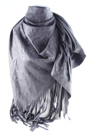 Pfeffinger Schultertuch grau Street-Fashion-Look