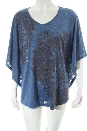 Pfeffinger Shirt kornblumenblau Casual-Look