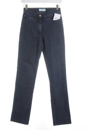 Pfeffinger Straight-Leg Jeans graublau Street-Fashion-Look