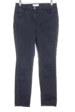 Pfeffinger Pantalon strech bleu foncé style décontracté