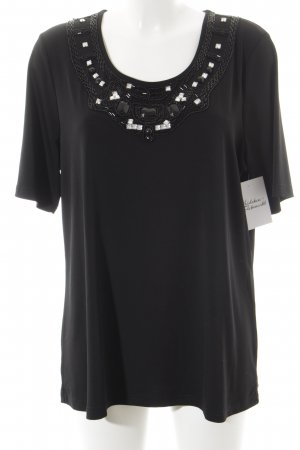 Pfeffinger T-Shirt schwarz Casual-Look