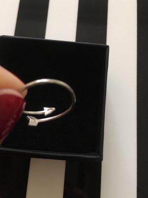 Pfeil Ring   925er Sterling Silber