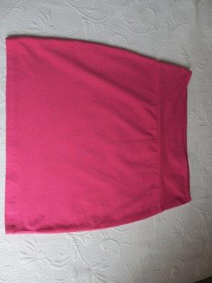 Pfiffiger Strech Minirock in pink, Gr. 36 von S.Oliver