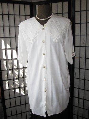 Camicetta lunga bianco Viscosa
