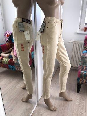 Jet Set Pantalón de cintura alta multicolor Algodón