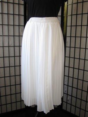 Gonna culotte bianco Poliammide
