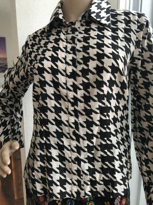 Heine Zijden blouse veelkleurig Zijde
