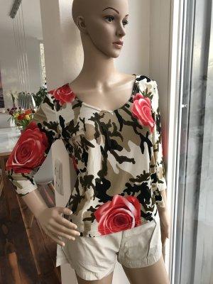 SALE!!! * Wunderschönes Rosen-Shirt * 3/4 Arm * Toller Druck * Schöne Farben * elastisch
