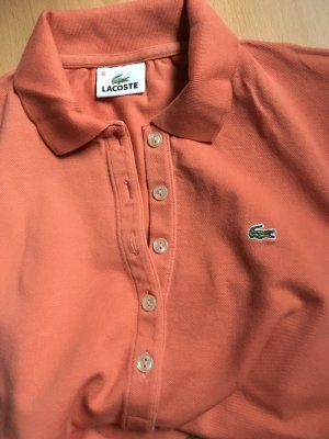 Pfingstsale - Lacoste Poloshirt in angenehmem Orange