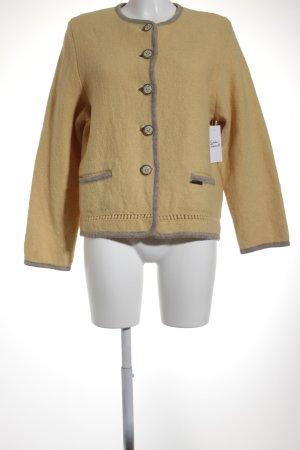 Pfister Austria Giacca tradizionale giallo scuro-marrone-grigio stile country