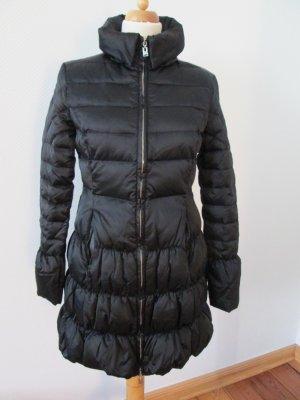 Phard Manteau en duvet noir-argenté