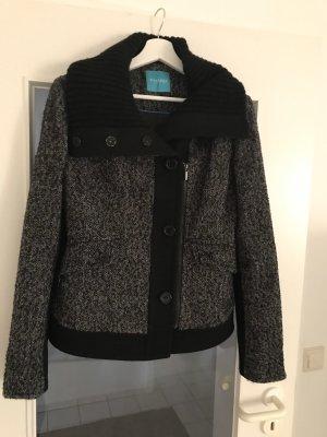 Phard Chaqueta de lana negro-gris oscuro