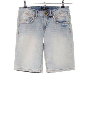 Phard Pantaloncino di jeans blu stile casual