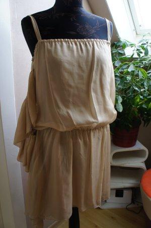 PHARD Kleid Größe 36/38 nude EINZIGARTIG