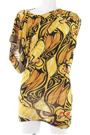 Phard Minikleid abstraktes Muster extravaganter Stil