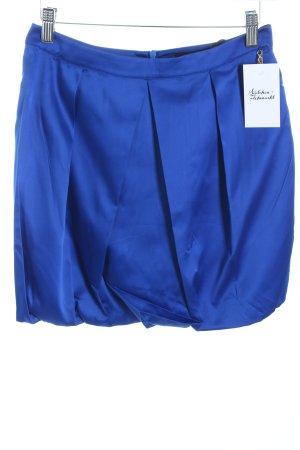 Phard Minirock neonblau Eleganz-Look