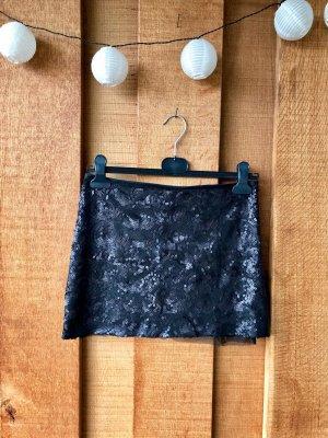 PHARD Paillettenrock schwarz Größe 34