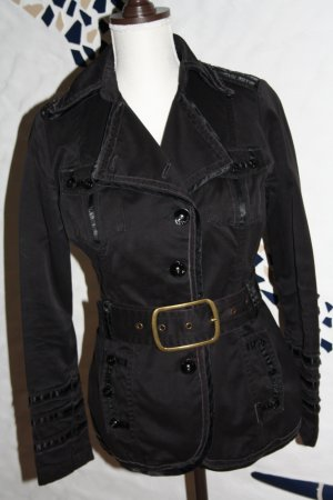 Phard Trenchcoat Jacke / Übergangsjacke / Jacke / 36/38 (S/M) schwarz