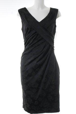 Phase eight Abendkleid schwarz-dunkelgrün Elegant