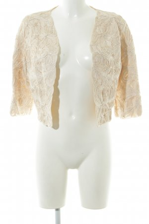 Phase eight Blouse Jacket cream abstract pattern elegant