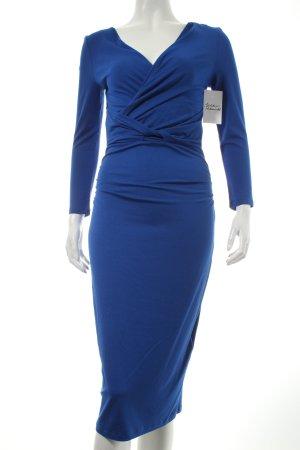 Phase eight Langarmkleid blau Wickel-Look