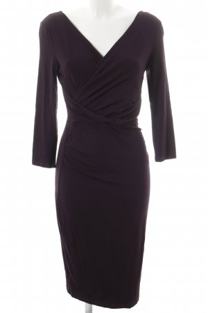 Phase eight Langarmkleid dunkelviolett Casual-Look