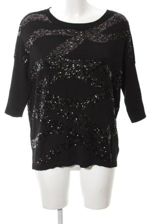 Phase eight Strickshirt schwarz extravaganter Stil