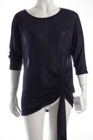 Phase eight U-Boot-Shirt dunkelblau Romantik-Look