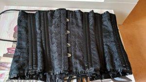 Corsage zwart Katoen