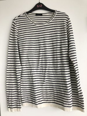 Phil Petter gestreifter Boucle' Pullover