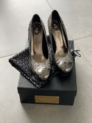 Philipp Plein High Heels silver-colored